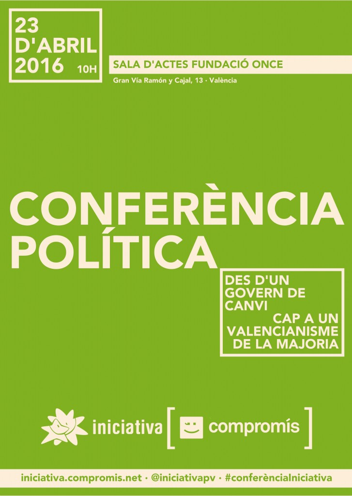 ConferenciaPolitica_Cartell2 verd